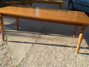 Oregago solid wood dining room table