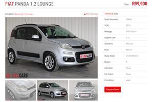2013 Fiat Panda 1.2 Lounge