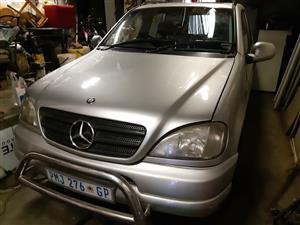 2000 Mercedes Benz ML 270CDI