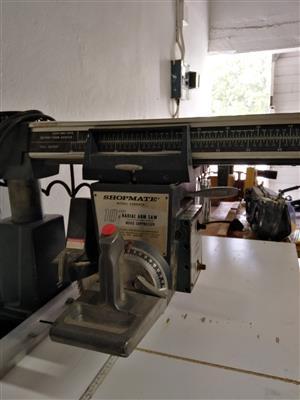 Shopmate radial arm saw for sale  Robertson