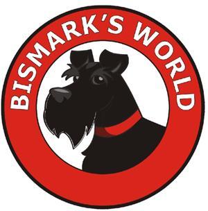 Dog poop scoop with Bismark's World