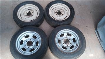 1955 to 1957 chevy bakkie 3100 rims