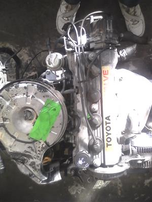 Toyota Corrolla 1.6 Carb Sprinter Engine for Sale