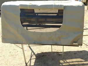 Land Cruiser Canvas Cattle Rail Canopy