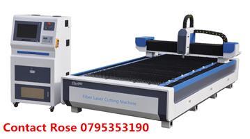 Metal cutting machine--1200w new fiber fibre laser machine