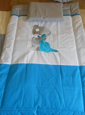 cot comforter and pillowcase for cot or camp cot