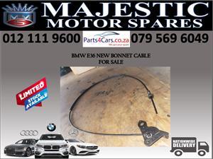 Bmw E36 Bonnet cable for sale