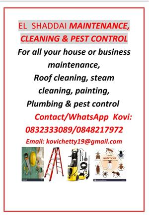 ELSHADDAI MAINTENANCE,CLEANING & PEST CONTROL