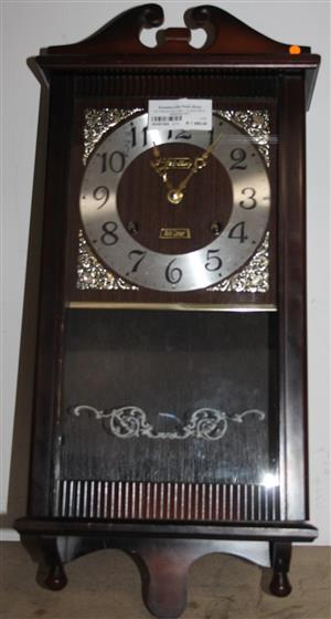 S035735A Rythm 30 day wall clock with winding key #Rosettenvillepawnshop