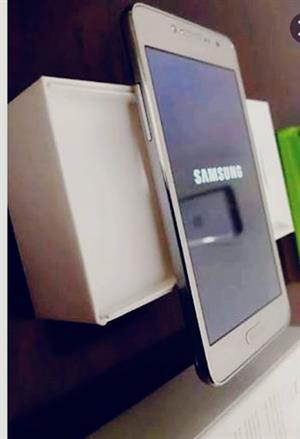 Samsung Grand Prime Plus Gold with selfie cam flash box included