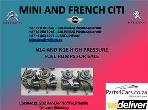 Citroen mini cooper and peugeot high pressure fuel pump for sale