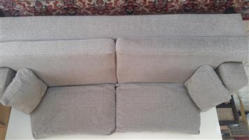 REDUCED PRICE: Three Seater Grey Couch
