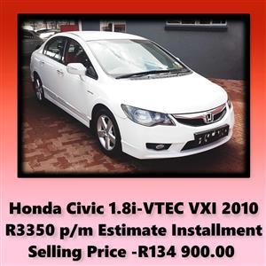 2010 Honda Civic hatch 1.8 VXi