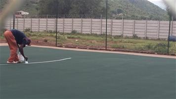 Tennis courts rejuvenates   Virginia   0846941581