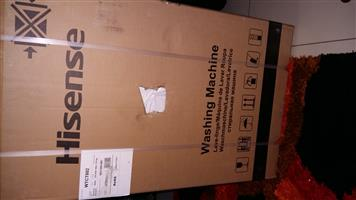 HISENSE 8KG TOP LOADER WASHING MACHINE - MODEL WTCT802 - ITS BRAND NEW SEALED IN THE BOX.