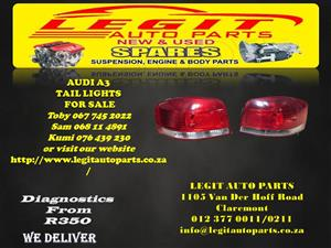 AUDI A3 TAIL LIGHTS FOR SALE