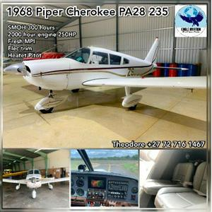 1968 PIPER CHEROKEE PA28-235 FOR SALE