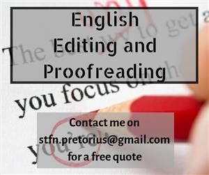 English Editing and Proofreading