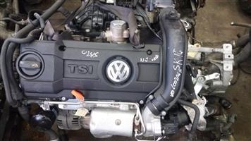 VW Polo 1.4 TSi Engine  # CAX