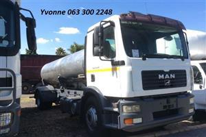 2009 MAN 15-240 Baseline 8000LT Water Tanker For Sale