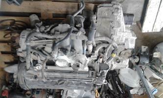 DAEWOO NUBIRA 2.0 ENGINE AND GEARBOX (USED)