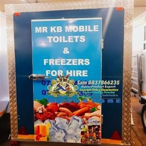 Free Branding with Mobile Chiller or Freezer Sale