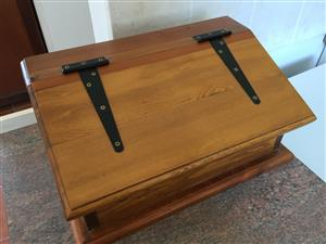Wooden bread bin for sale