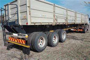 TRAILORD TIPPING BULK TRAILER TWIN BIN TRAILERS FOR SALE PLEASE CALL: 074  860  0898   R175 - 000