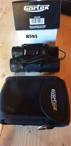 Gortek 10 x 25 Rubber Covered Compact Binocular