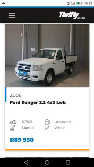 2008 Ford Ranger 2200 XL