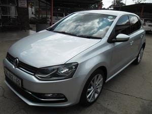 2015 VW Polo hatch 1.2TSI Highline auto