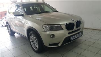 2012 BMW X3 xDrive20d xLine auto