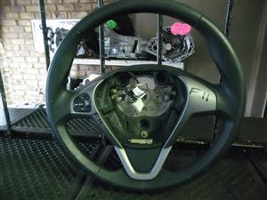 ford fiesta titanium steering wheel