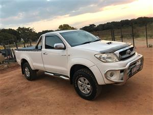 2010 Toyota Hilux single cab HILUX 2.8 GD 6 RB RAIDER P/U S/C