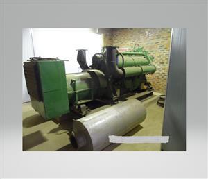 V12 / 630kVA Detroit Generator (R 420,000-00 Excl VAT)