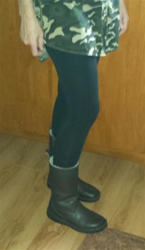 Boots - Leather / Sheepskin Ladies
