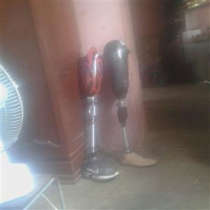 2x above knee prosthesis