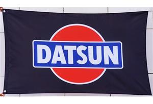 New Datsun Racing Car Flags