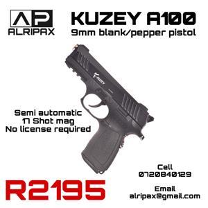 9mm self-defence blank pistol/gun