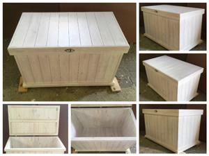 Storage box Farmhouse series 1150 - White washed