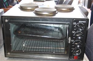 Sansui 3 plate stove S031378B #rosettenvillepawnshop