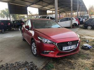 Mazda 3 Now Stripping for Spares