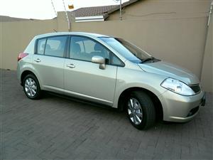 2012 Nissan Tiida hatch 1.6 Visia+