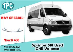 Mercedes Benz Sprinter 518 Used Grill Valance for Sale  at TPC