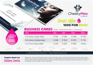 Marketing services in northern suburbs junk mail quality business card printing reheart Choice Image