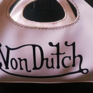 Von Dutch mini bowling bag