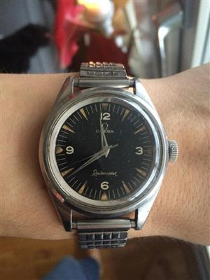 Wanted omega railmaster watches