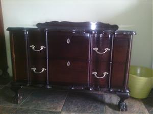 Ball and claw chest of drawers
