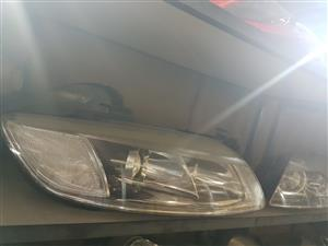 Secondhand-New Mercedes Benz Coolers  and Audi Q 7 lights spare pats