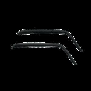 Jeep Wrangler window deflectors